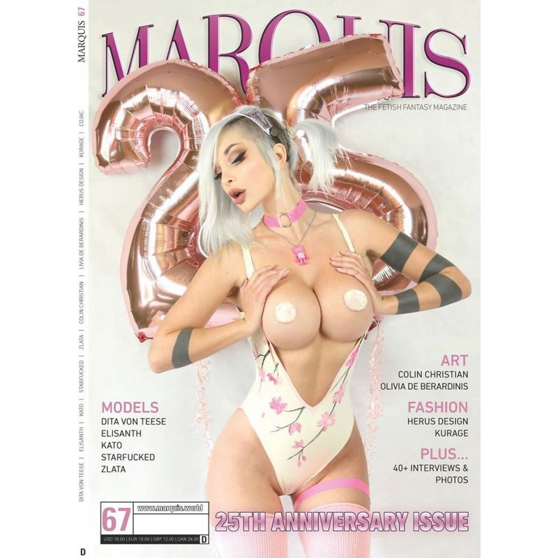 Image of Marquis 25Th Anniversary Issue 67 Deutsch (Cover B)