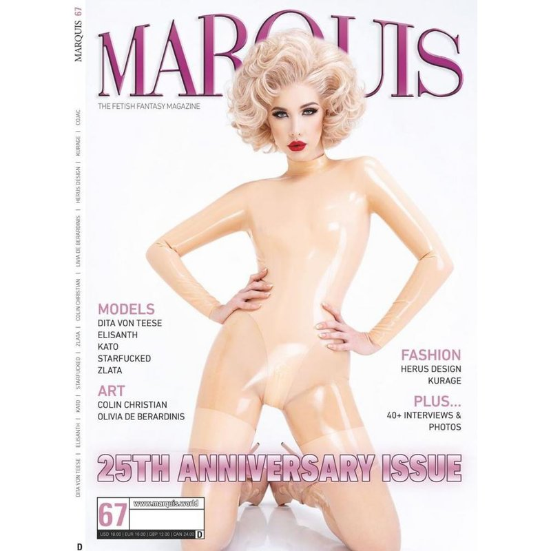 Image of Marquis 25Th Anniversary Issue 67 Deutsch (Cover C)