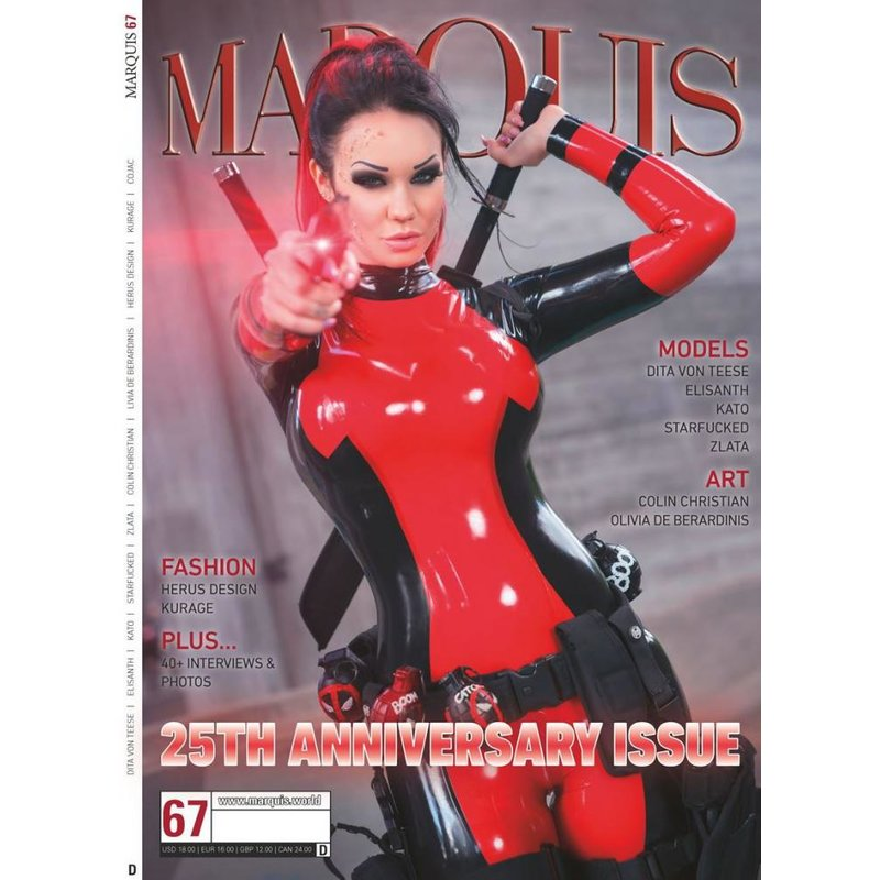 Image of Marquis 25Th Anniversary Issue 67 Deutsch (Cover D)