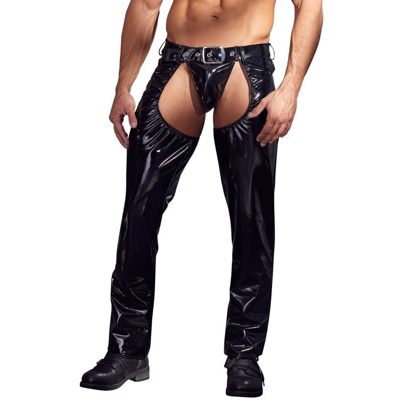 Image of Chaps & String S | Black Level