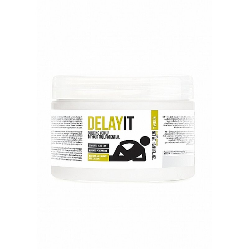 Image of Delay It - Building You Up To Your Full Potential - 500 ml